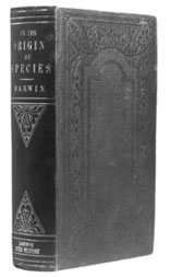 First edition of <em>On the Origin of Species</em> (1859), presented by Darwin to Charles Kingsley