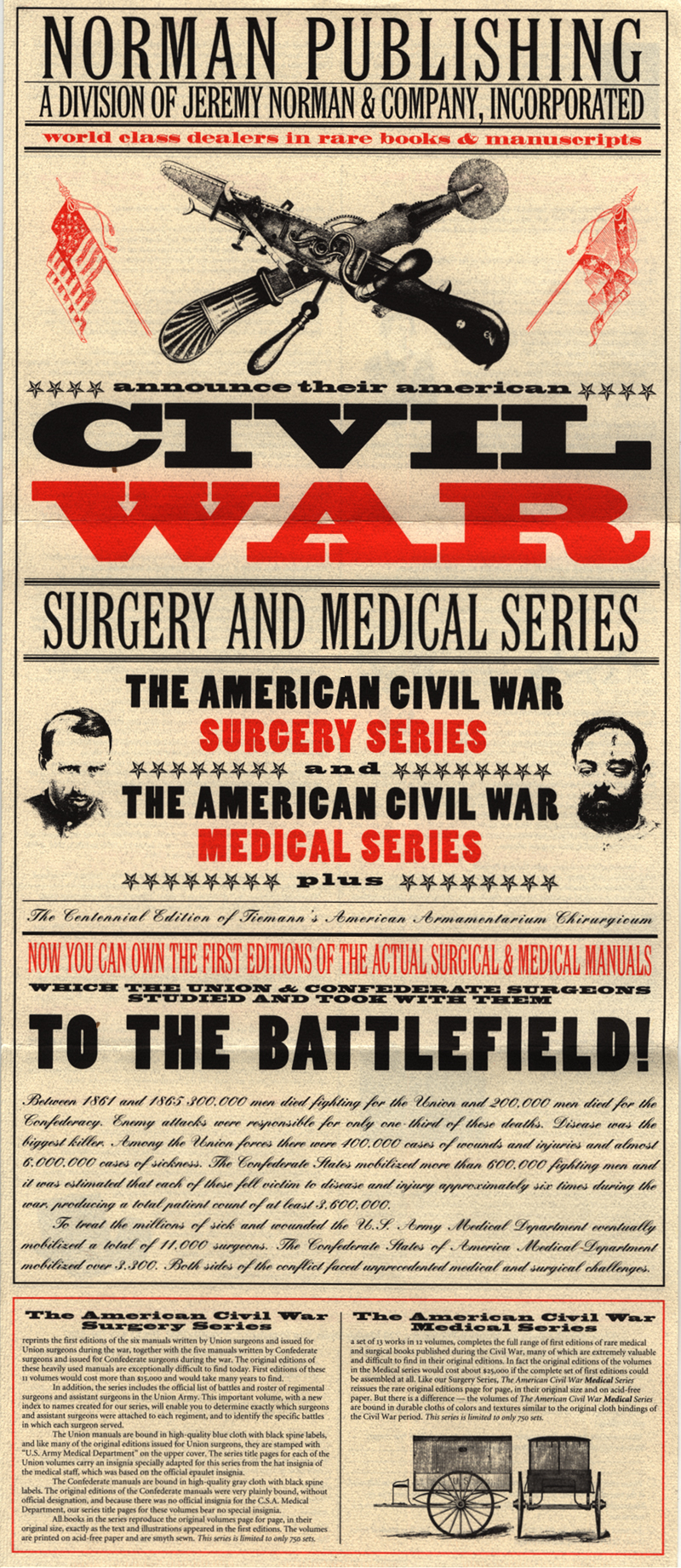 norman publishing publications american civil war surgery and  publications american civil war surgery and medicine