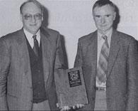 Emeritus Professor John Carman (Anatomy) and Dr. Will Richardson (Classics)
